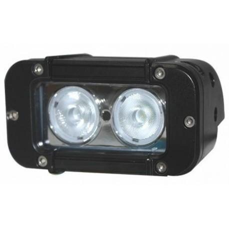 Feu 2 LEDs 20 Watts faisceau droit