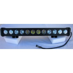 Barre 12 LEDs 120 Watts combo