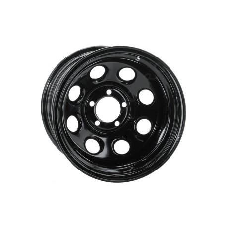 Soft 8 noir mat - 8x15 - 5x114.3 - Dep 0