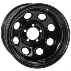 Soft 8 noir mat - 8x15 - 6x139.7 - Dep -25
