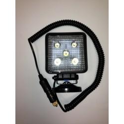 Phare de travail 5 LEDs magnétique